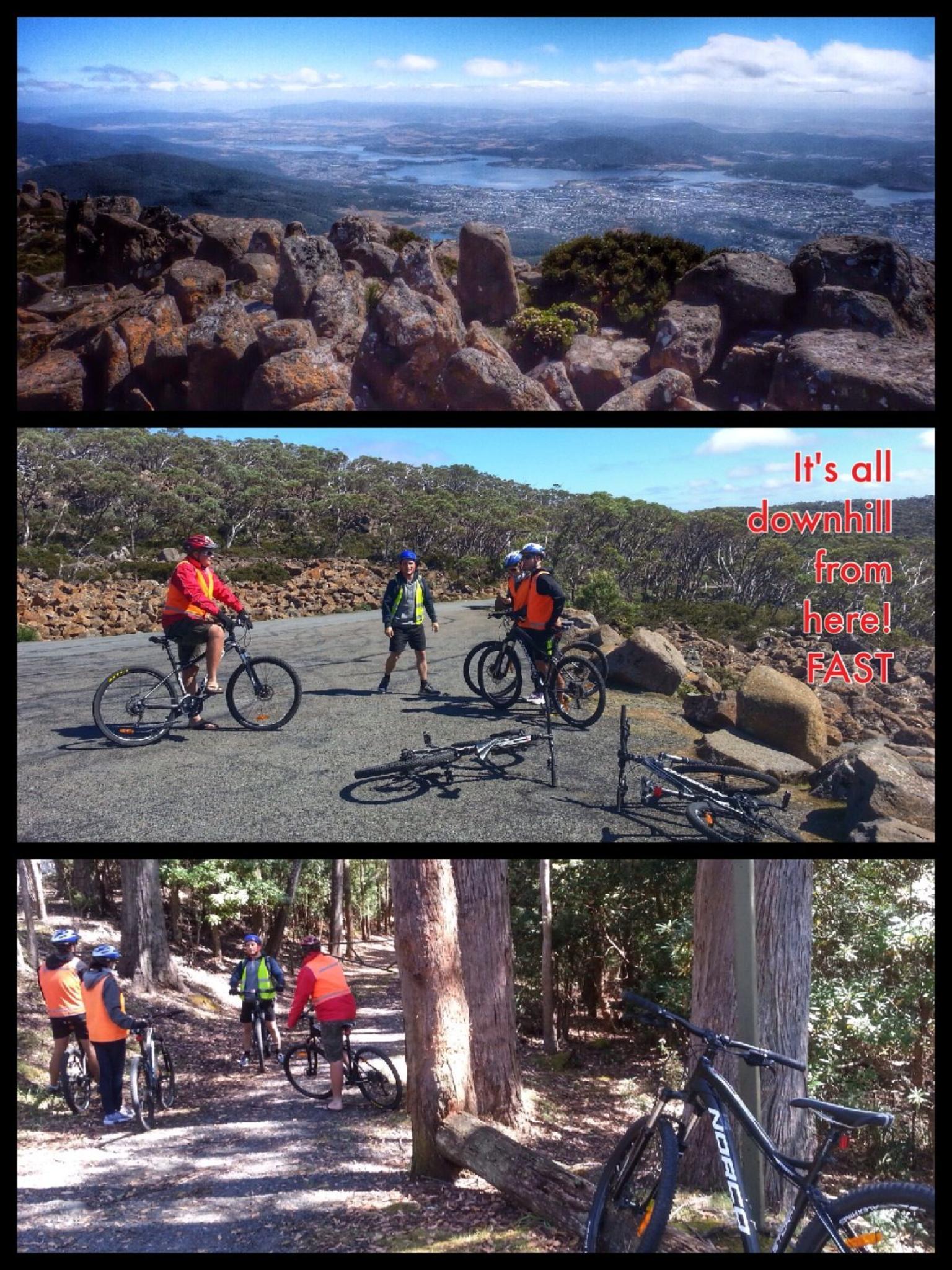 MÁS FOTOS, Mount Wellington Descent Cycling Tour departs Hobart