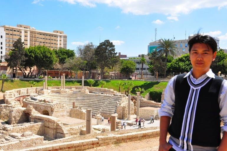 Tour Around Alexandria: Roman Amphitheatre - Cairo