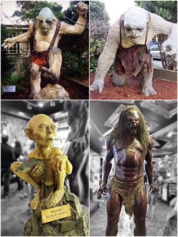 Some familiar characters in the Weta Cave... , Shirls - May 2015