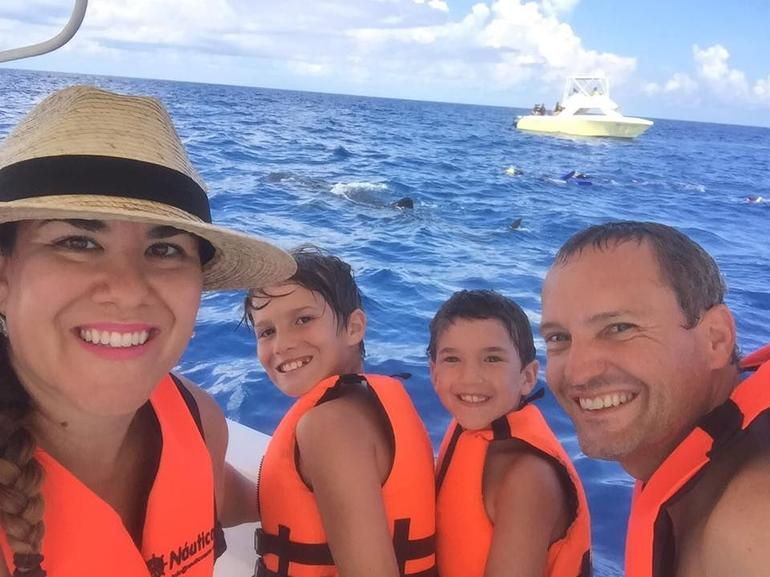 From Cancun: Swim with Whale Sharks Tour