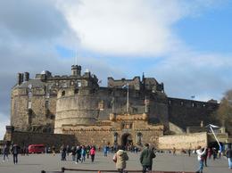 Outside the Edinburgh Castle , Mark L - August 2017