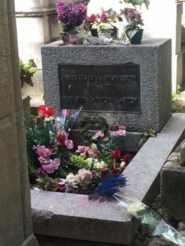 Jim Morrisons Grave site , Joe - September 2017
