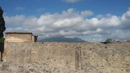 View of Vesuvii from Pompei , Chavdar A - October 2017