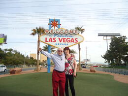At the Las Vegas sign , Shelagh S - May 2013