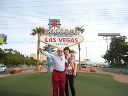 At the Las Vegas sign , Shelagh S - May 2013