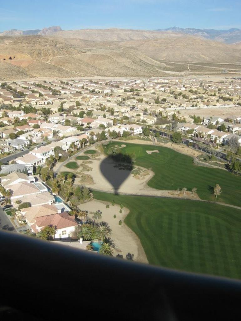 Flying over the Valley - Las Vegas
