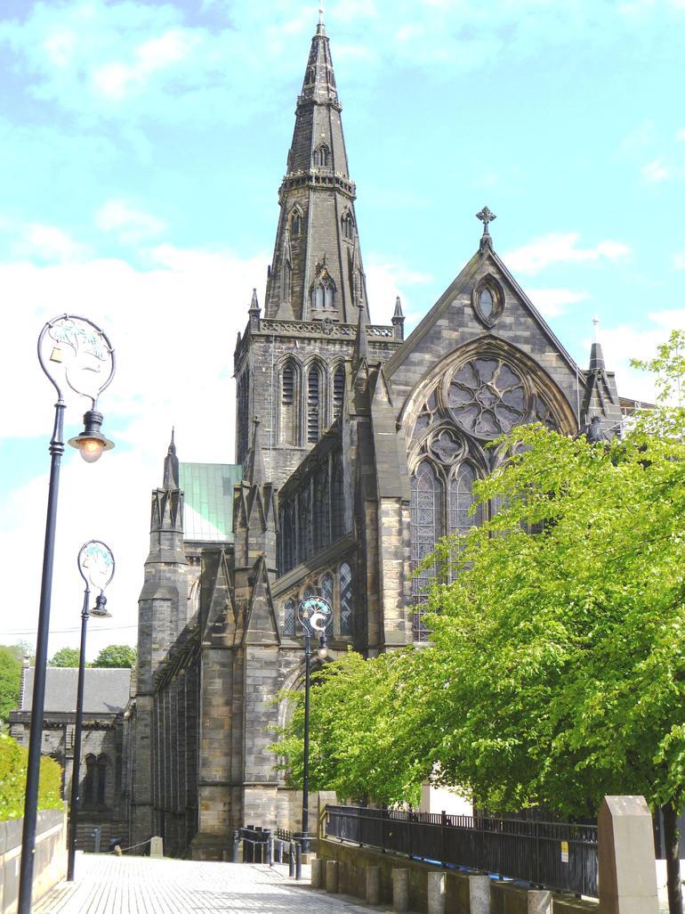 Glasgow, St. Mungo's Cathederal - Glasgow