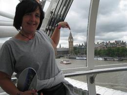 In the London Eye, Louise G - August 2010