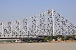 One of Kolkata's biggest bridges - July 2012