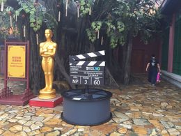 Oscar statue at Stage 360, Bing - June 2015
