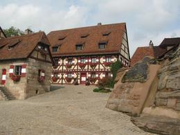 Inside the castle walls, Nuremberg, Denis S - October 2010