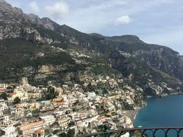 A view of Positano , Aurora V - April 2015