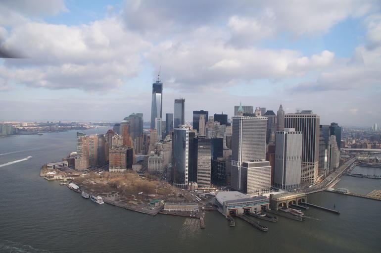 South end of Manhattan - New York City