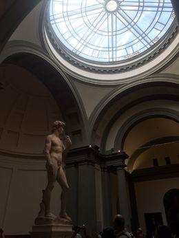 Statue du David de Michel-Ange - Galerie de l'Académie , BASSO I - August 2015