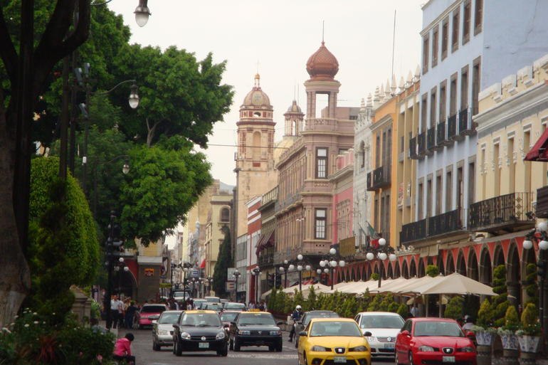 Streets of Puebla - Mexico City