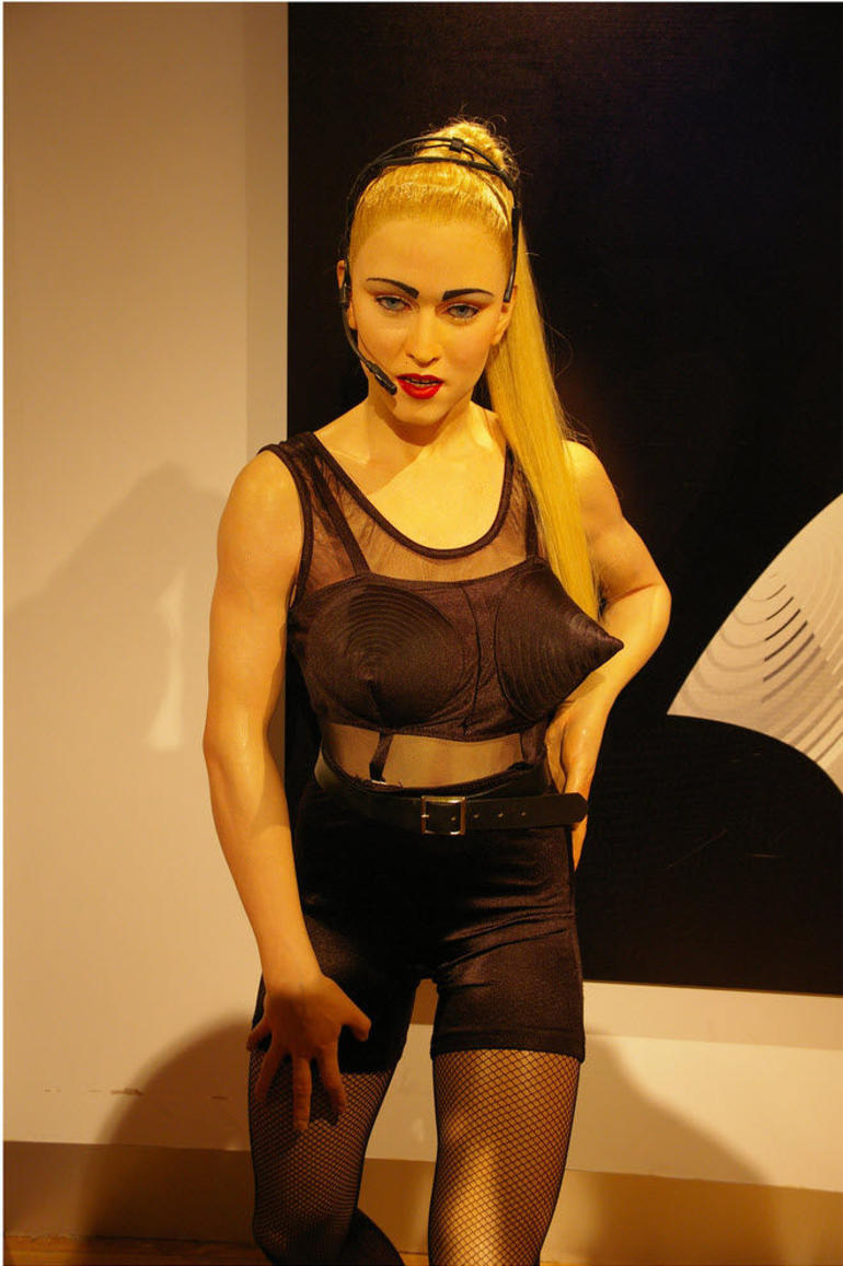 Strike a pose, Madonna! - Hong Kong