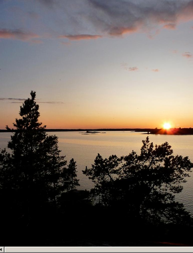 Sunset Archipelago - Stockholm