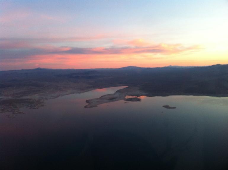Sunset on Lake Mead - Las Vegas