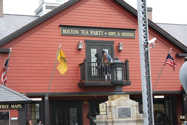 The Boston Tea Party. - Boston