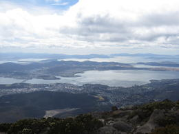 View from Mount Wellington , nlliew - December 2012