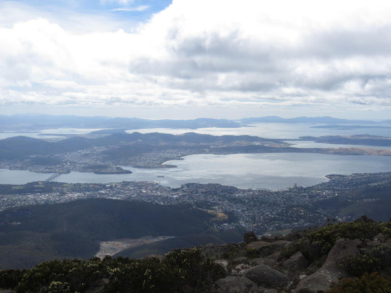 View from Mount Wellington - Hobart
