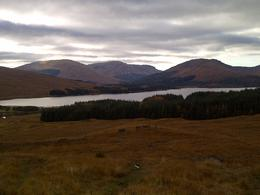 Amazing view near Glencoe , Caroline - October 2012