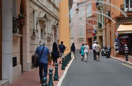 These are the folks I took the excursion with, walking down a small side street in Monaco. Our tourguide, Pierre, was brilliant! , JimK - August 2015