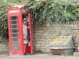 Acting Silly in Lacock , Sherri Brown Bell - October 2016