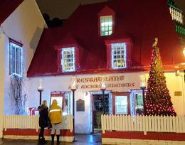 Oldest restaurant in Quebec - regional food. , Tap - December 2016