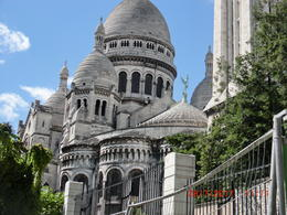 we arrive at the Sacre-Coeur from the back, which was very beautiful , Trish S - August 2017