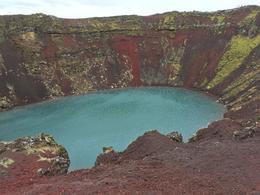Crater lake Keryg , James R P - August 2017