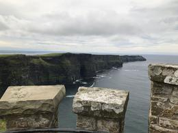 The view of the Cliffs from the O'Brien's tower is impressive. , Liliana B - September 2017