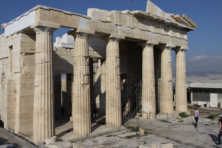 Back entrance, acropolis - Athens