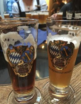 Great way to try out different types of German beer : , schoellkopfe - July 2016