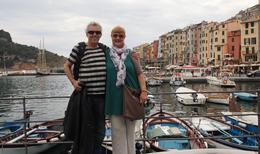 Our first look at the Cinque Terre villages , Suzan - June 2012