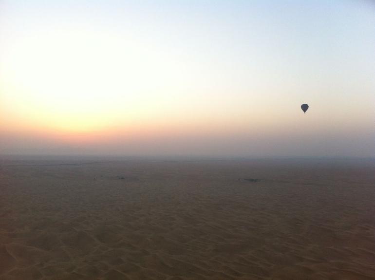Dubai hot air balloon - Dubai