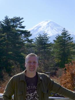 View from the outside of the Mount Fuji Visitors Centre. , Ian P - November 2013