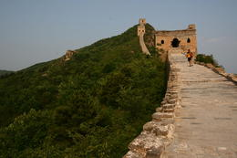 Amazing view on top of the Great Wall! - May 2012