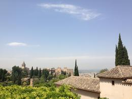 View of the Alhambra from the gardens! , Marina S - August 2012