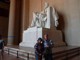 M and M and the Lincon Memorial , Mark B - September 2013