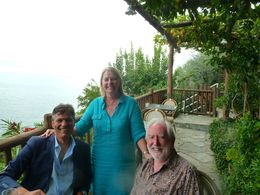 Our driver Giovanni, left, recommended this restaurant where we had an excellent lunch , julie.mullins1 - November 2015