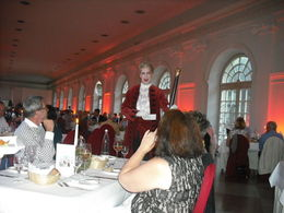 The gentleman introduced the order of the evening events and was really amusing , Susan C - September 2015