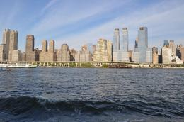 From Circle Line Boat looking at the New York side from the middle of the Hudson., Karl K - August 2010