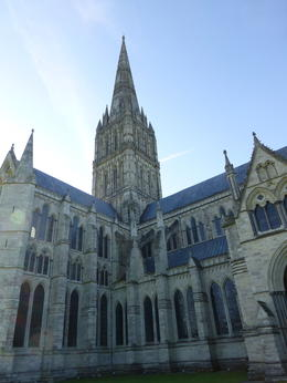Salisbury Cathedral Spire , Rick S - September 2012