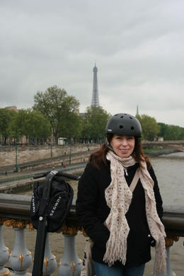 One of the many stops with the Eiffel tower always available for a photo , Brian C - May 2012
