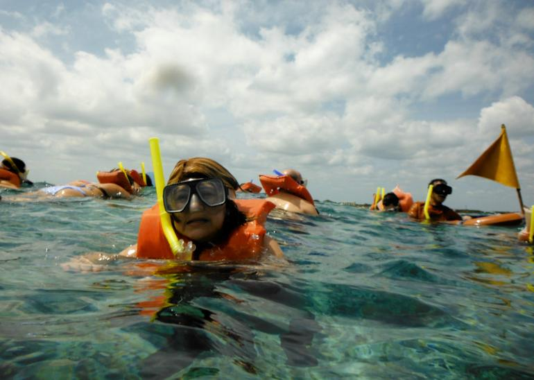 Snorkeling! -