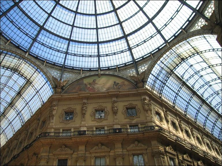 The arcade in Milan - Milan