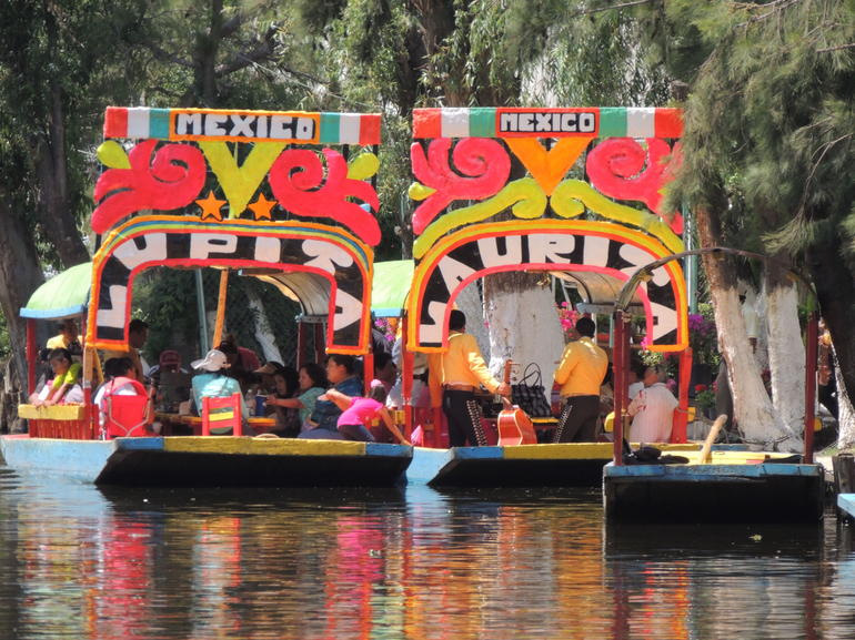 The boats - Mexico City