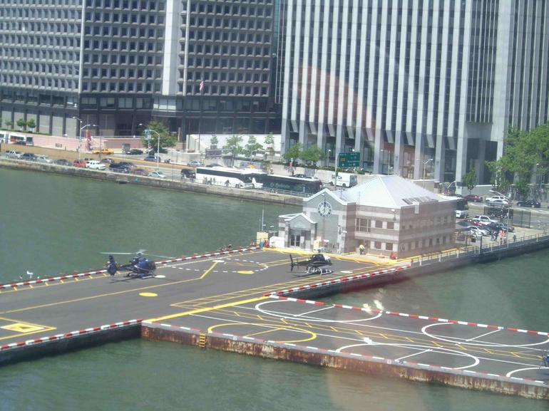 The Downtown Heliport - New York City