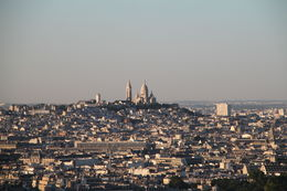 You can see the Sacré-Cœur Basilica in the distance. , Deborah B - August 2015